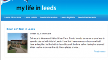 Guide Writing for My Life in Leeds